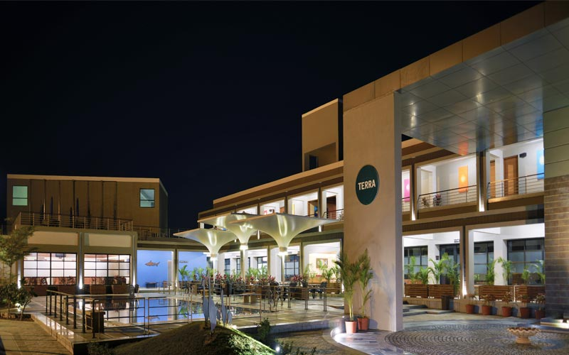 Terra Club House at Night