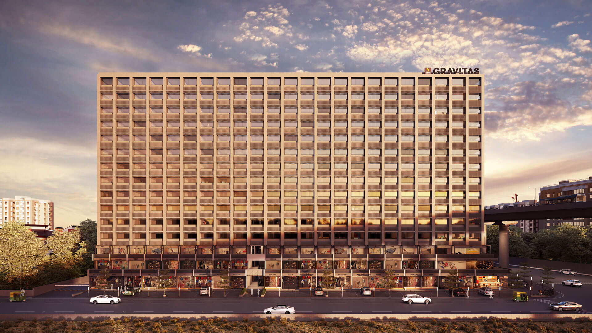 Sun Gravitas - Under construction projects in Ahmedabad