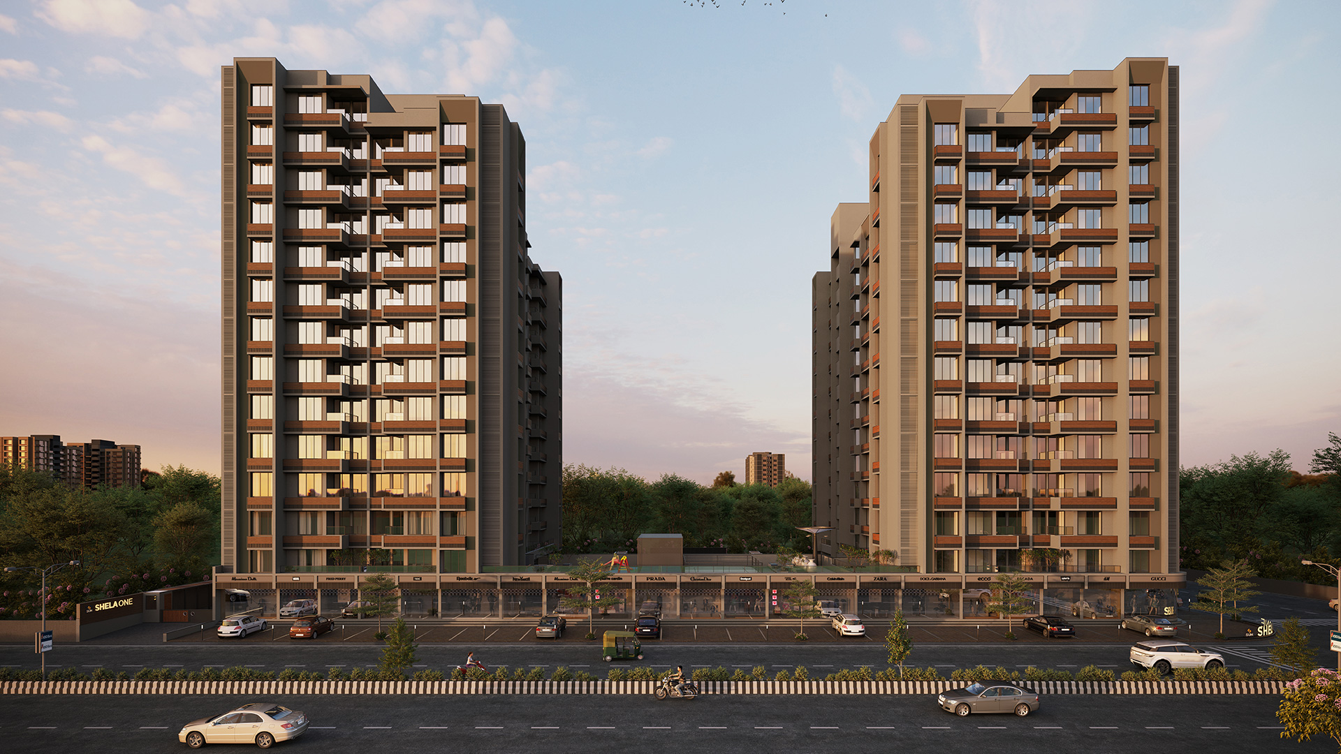 Sun Shela One - Under construction projects in Ahmedabad