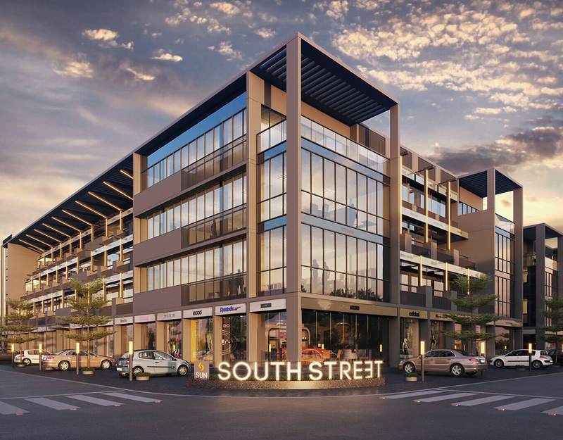 Sun South Street - Retail Segments at South Bopal